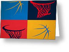 Thunder Ball And Hoop Greeting Card
