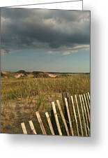 Thunder Dunes Greeting Card