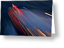 Thunderbird At Night Greeting Card