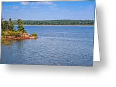 Thunderbird Lake Greeting Card