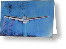 Thunderbird Logo Greeting Card by Dietrich ralph  Katz