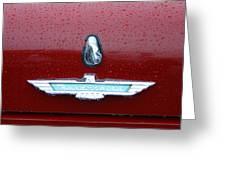 Thunderbird Squared Greeting Card