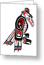 Thunderbird Totem Greeting Card
