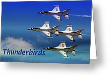 Thunderbirds Greeting Card