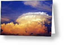 Thunderhead Greeting Card by Skip Nall