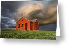 Thunderous Plains Greeting Card
