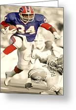 Thurman Thomas Greeting Card