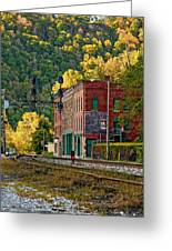 Thurmond Wv Greeting Card