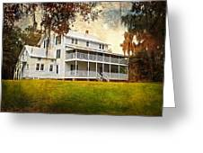 Thursby House Blue Springs Greeting Card