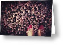 Thyme Carpet Greeting Card