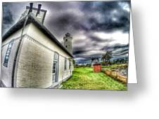 Tibbits Point Lighthouse Greeting Card
