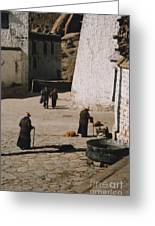 Tibet 2x2x2 By Jrr Greeting Card