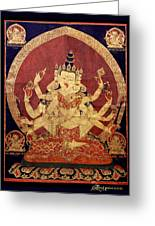 Tibetan Art Greeting Card