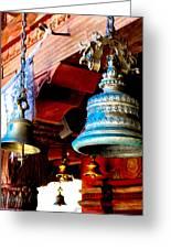 Tibetan Bells Greeting Card