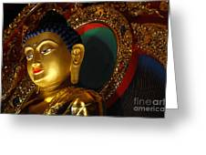 Tibetan Buddha 8 Greeting Card