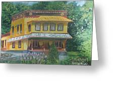 Tibetan Monastery Greeting Card