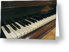 Tickle The Ivories Greeting Card