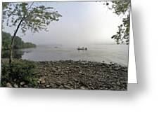 Ticonderoga Bass Fishermen Greeting Card