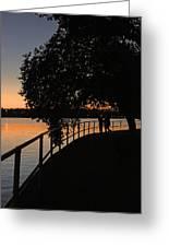Tidal Basin Sunset0259 Greeting Card