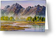Tidal Flats Greeting Card