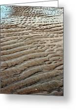 Tidal Footprint Greeting Card