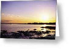 Tidal Light Greeting Card
