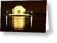 Tidal Pool Panorama Greeting Card