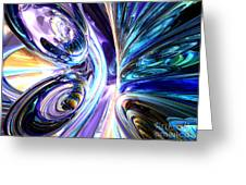 Tide Pool Abstract Greeting Card