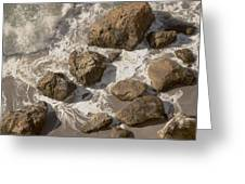 Tide Pools Of Shell Beach California Greeting Card