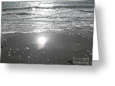 Tide Waits For No One Greeting Card