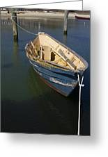 Tied Down From The Storm  Greeting Card by Eugene Bergeron