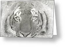 Tiger #1 Greeting Card