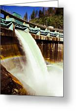 Tiger Creek Dam Greeting Card