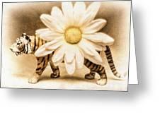 Tiger Dream Greeting Card