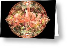 Tiger Lily Sphere Greeting Card