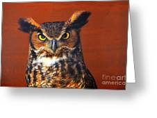 Tiger Owl Greeting Card