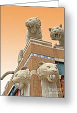 Tiger Town Greeting Card