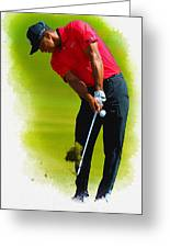 Tiger Woods - The Honda Classic Greeting Card