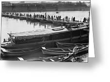 Tigris River Bridge Greeting Card