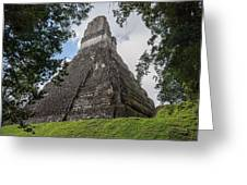 Tikal Pyramid 1b Greeting Card