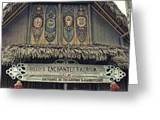 Tiki Room Adventureland Disneyland Greeting Card