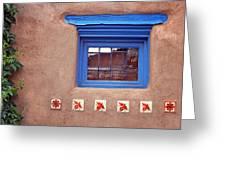Tiles Below Window Greeting Card