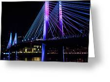 Tilikum Crossing On December 6 Greeting Card