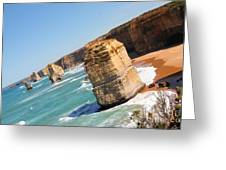 Tilting Rocks Greeting Card
