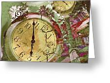 Time 5 Greeting Card