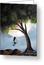 Time Alone By Shawna Erback Greeting Card by Shawna Erback