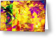Time As An Abstract Greeting Card