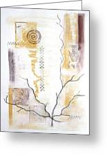 Time Branching Greeting Card by Diana Perfect
