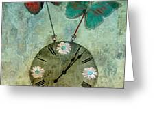 time flies Greeting Card by Aimelle
