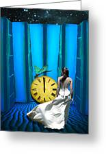 Time Fly Greeting Card